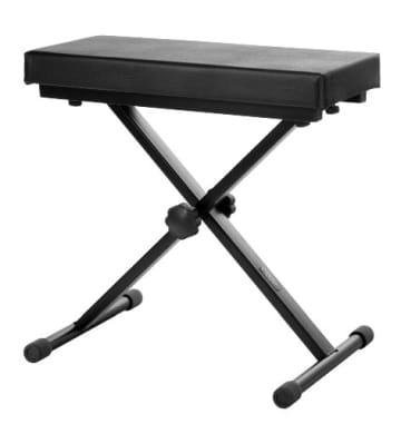 Classic Cantabile Keyboardbank Deluxe schwarz