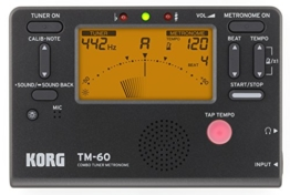 KORG Stimmgerät Metronom TM60BK